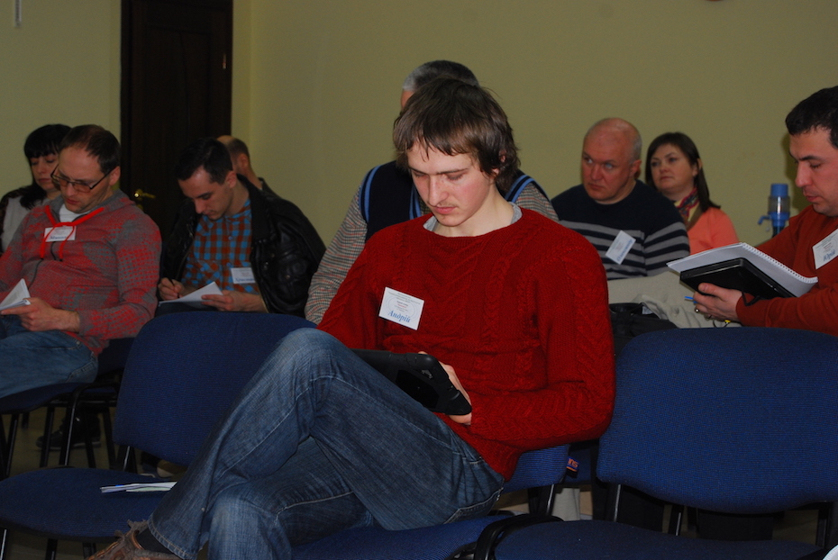 1-Andrii at the seminar in 2015